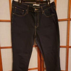 Levi's 721 high rise skinny jeans EUC